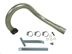 RLV 5507 EXHAUST PIPE (INCLUDES SUPPORT)