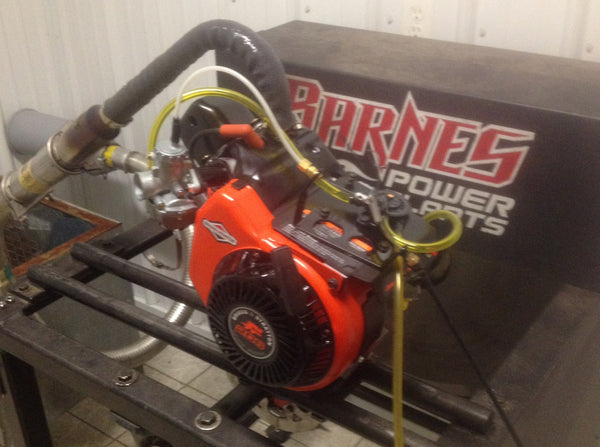 BRIGGS LO206 DYNO TUNED AND ASSEMBLED ENGINE – Barnes Power Plants