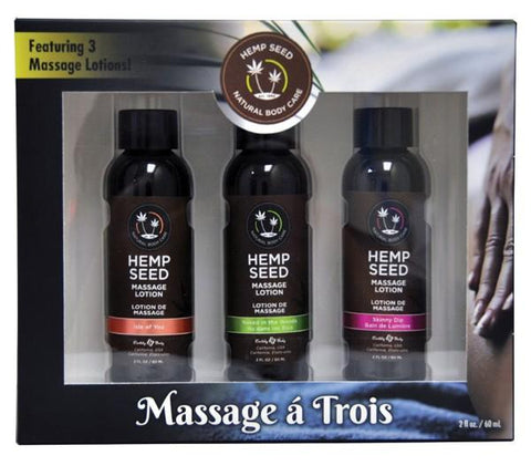 Earthly Body Massage A Trois Gift Set