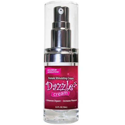 Dazzle Female Stimulating Cream .5oz - Covenant Spice