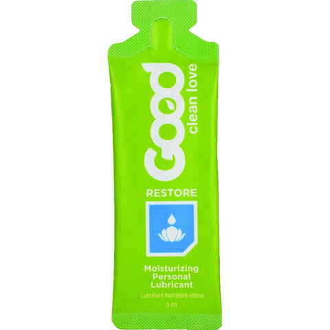 Good Clean Love RESTORE Moisturizing Lubricant Foil 5ml - Covenant Spice