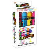 Bodylicous Edible Body Pens-Assorted (4 Pack)