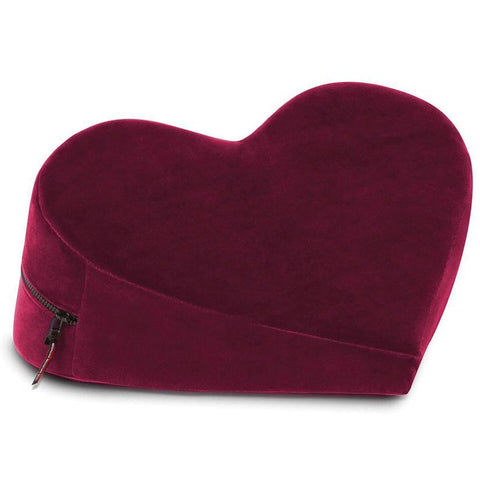 Liberator Heart Wedge in Merlot -Does not ship outside the USA.