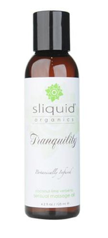 Sliquid Organics Sensual Massage Oil - Tranquility - Covenant Spice