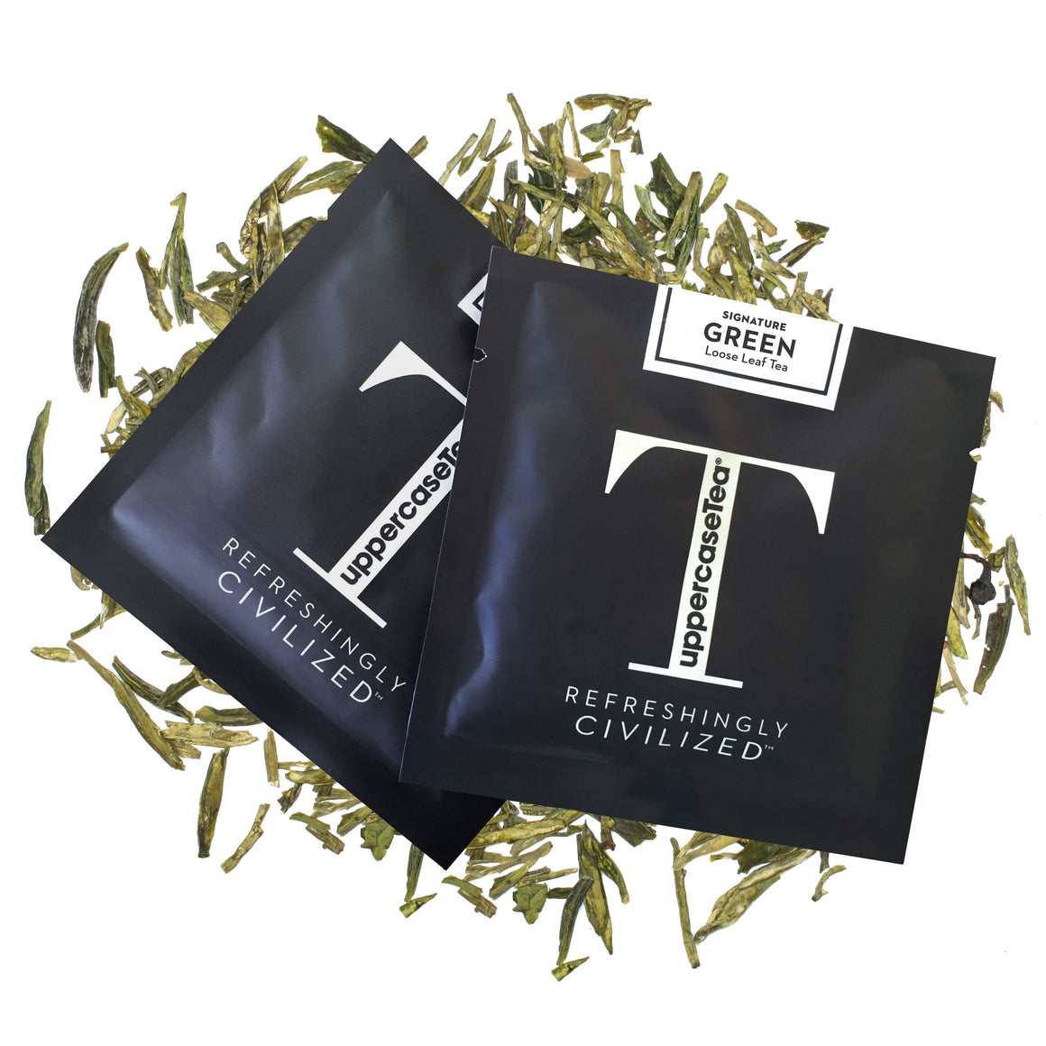 Green Loose Leaf Tea Refill Packs