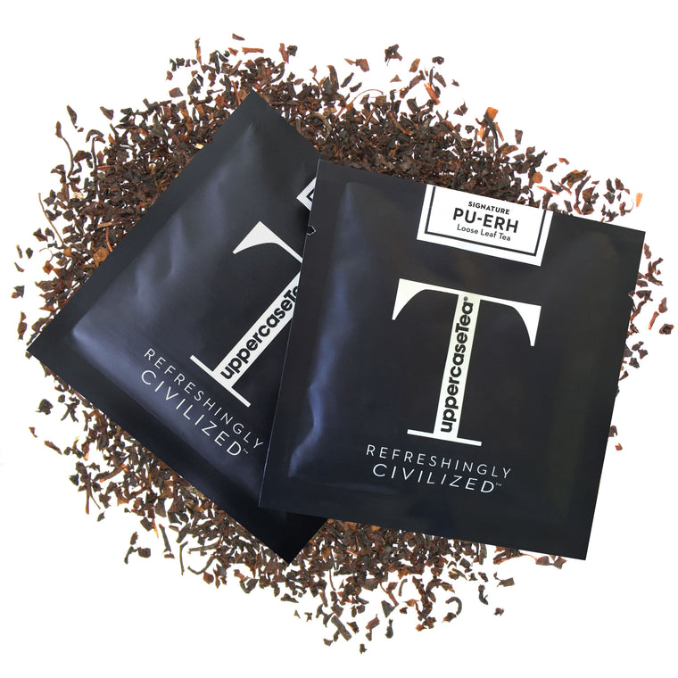 Pu-erh Loose Leaf Tea Refill Packs