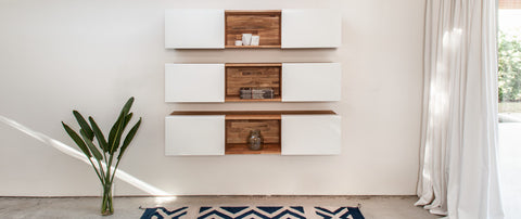 Mash Studios wall mounted shelving