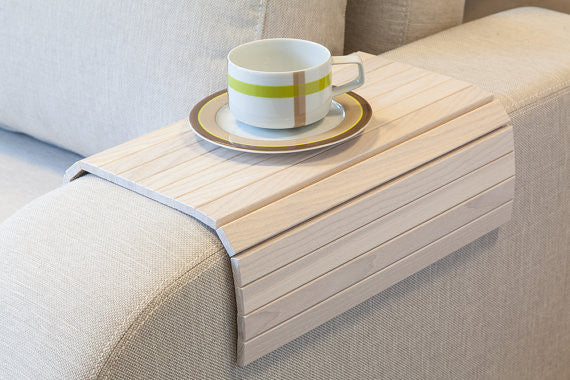 flexible sofa arm tray