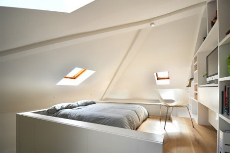london flat mezzanine