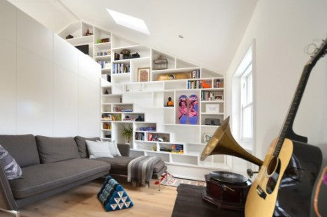 London Loft Small Space Living