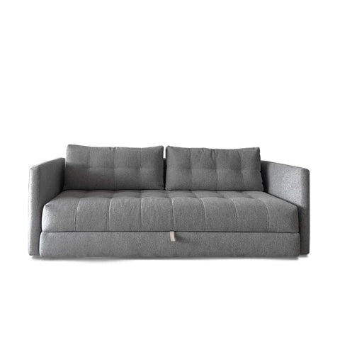 Nest Storage Sofa Bed (Queen) - Ash Grey