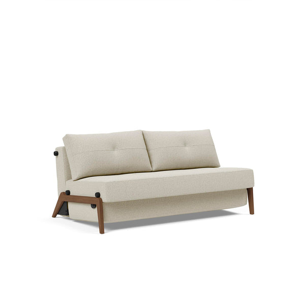 Stretch Sofa Bed (Double/Queen) - Wood Legs