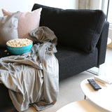 Movie Night Sofa Bed (Queen) - Soft Blue