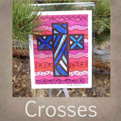 Cross Art Prints for Sale by Artist Wendy Christine at Raspberry Lane Crafts
