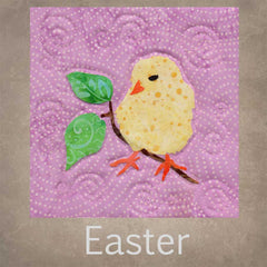 Easter quilt patterns at Raspberry Lane Crafts