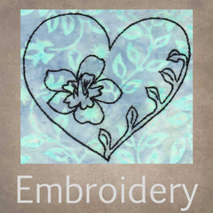 Embroidery Design Patterns for Sale Download Florals Hearts Leaves