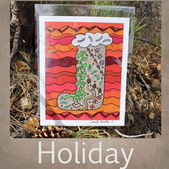 Holiday Art Prints for Sale at Raspberry Lane Crafts