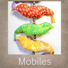 Mobiles and Hanging Decorations quilt patterns at Raspberry Lane Crafts