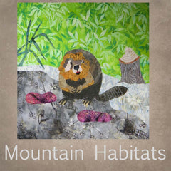 Mountain Habitats Quilt Collection Wilderness Animals Patterns for sale at Raspberry Lane Crafts