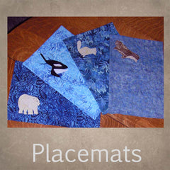 Placemat quilted sewing pattern for sale