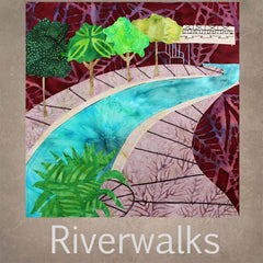 Riverwalks quilt pattern collection San Antonio Riverwalk Pueblo, Colorado Riverwalk
