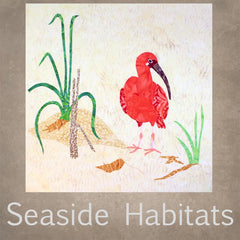 Seaside Habitats Quilt Block Collection