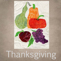 Thanksgiving turkey autumn leaves gourds table runner quilt pattern for sale