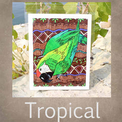 Tropical Art Prints for Sale by Artist Wendy Christine