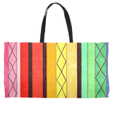 Orange, Yellow, Green, Pink Weekender Tote Cabana by Wendy Christine Buy Purchase Find Sale Great Prices