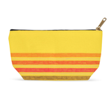 Yellow Stripe Accessory Pouches for Sale at Raspberry Lane Crafts