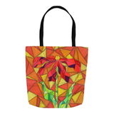 Red Flower Tote Bag for Books Clothes School Play for Sale Buy Purchase Find