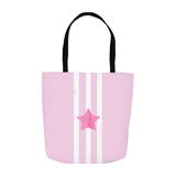 Pink Star Tote Bag for Sale from The Art of Wendy Christine