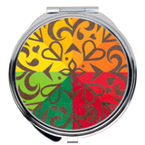 Sunset Filigree Compact Mirrors