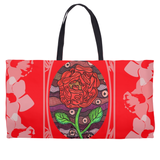 Southwest Red Rose Flower Weekender Tote Bag for Sale Purchase Buy Find from Raspberry Lane Crafts