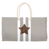 Brown star weekender bags for sale at Raspberry Lane Crafts
