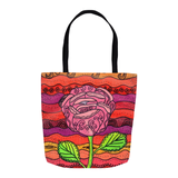 Colorful tote bags for sale from The Art of Wendy Christine