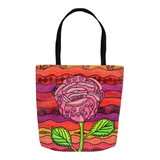 Pink Flower Tote Bags for Sale Buy Purchase Find