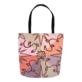 Shell Speck Tote Bags
