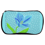 Himalayan Blue Poppy Cosmetic Bags