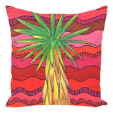 Red cactus pillows for sale