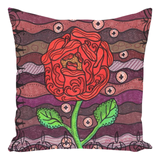 Buy Red Rose Throw Pillows