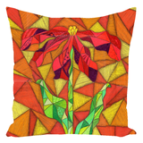 Orange throw pillow Clementine for sale at Raspberry Lane Crafts