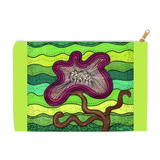 Purple Flower for Mom Accessory Pouches