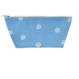 Sea Water Dot Accessory Pouches