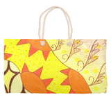 Sun Yellow Weekender Bags for Sale at Raspberry Lane Crafts