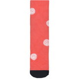 Coral Reef Dot Socks for Sale Crew