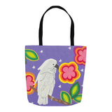 White Parrot Tote Bags for Sale Buy Find Purchase