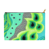 Peacock Artwork Bag by Wendy Christine for Sale