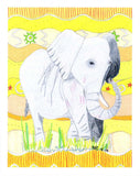 African elephant 8 x 10 art print for sale