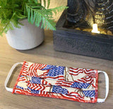 American Flag Face Masks for Sale at Raspberry Lane Crafts